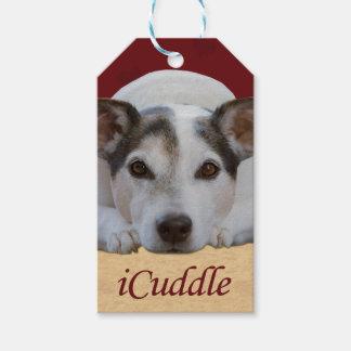 Étiquettes-cadeau iCuddle de Jack Russel
