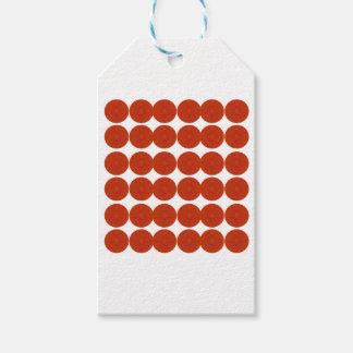Étiquettes-cadeau Illustration de conception de citrons