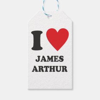 Étiquettes-cadeau James Arthur