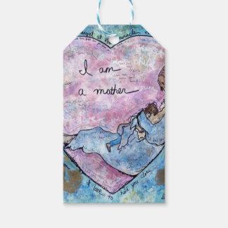 Étiquettes-cadeau Je suis mère