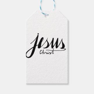Étiquettes-cadeau Jésus-Christ biblique