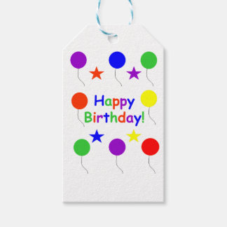 Étiquettes-cadeau Joyeux anniversaire !