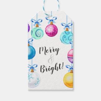 Étiquettes-cadeau Joyeux et lumineux