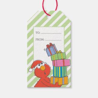 Étiquettes-cadeau Joyeux Noël Elmo