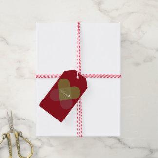 Étiquettes-cadeau Joyeux Noël - vert