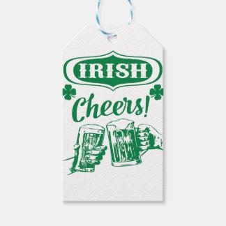 Étiquettes-cadeau La bière de St Patrick d'acclamations célèbrent