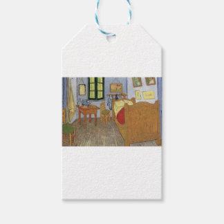Étiquettes-cadeau La chambre de Vincent Van Gogh (The room)