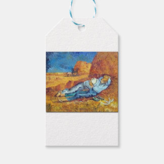 Étiquettes-cadeau La Sieste de Vincent Van Gogh (Noon)