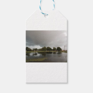 Étiquettes-cadeau lac