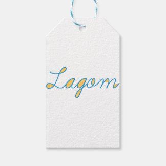 Étiquettes-cadeau Lagom