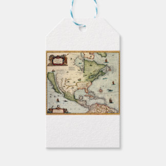Étiquettes-cadeau L'Amérique 1610