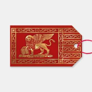 Étiquettes-cadeau Le drapeau de la République de Venise