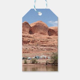 Étiquettes-cadeau Le fleuve Colorado, Utah, Etats-Unis