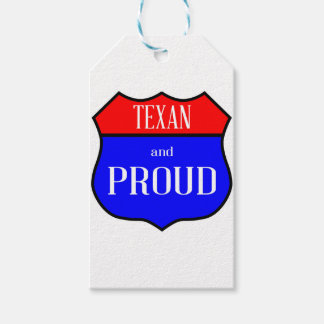 Étiquettes-cadeau Le Texas et fier