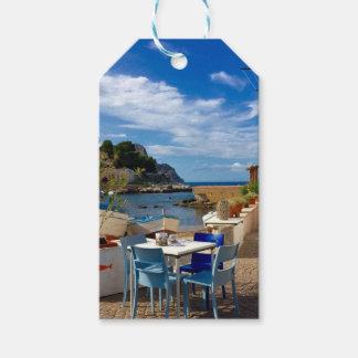 Étiquettes-cadeau Le village de pêche sicilien