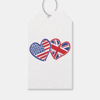 Étiquettes-cadeau LES Etats-Unis---R-U-Amour