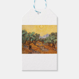 Étiquettes-cadeau Les oliviers de Vincent Van Gogh (Olives trees)