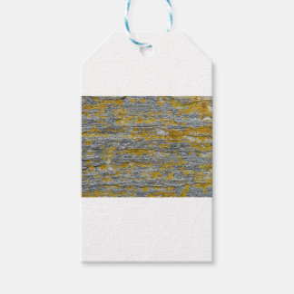 Étiquettes-cadeau Lichens sur pierre de granit