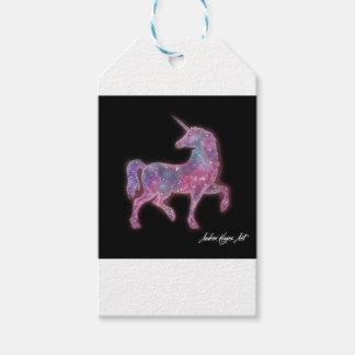 Étiquettes-cadeau Licorne