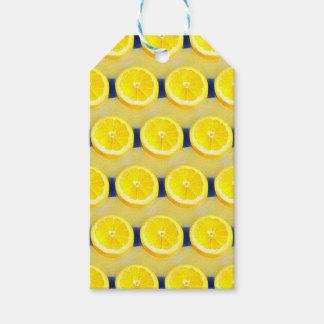 Étiquettes-cadeau Limonade