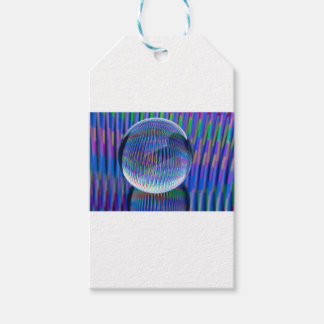 Étiquettes-cadeau Lumières multi dans le globe2