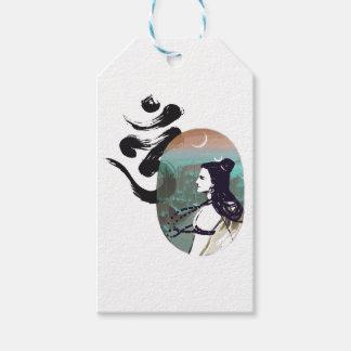 Étiquettes-cadeau Lune Shiva en hausse