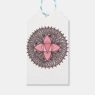 Étiquettes-cadeau Mandala de Chakra de racine