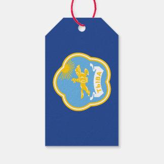Étiquettes-cadeau Manteau des bras de la Touva