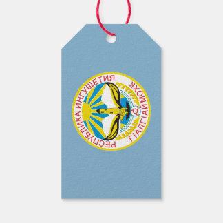 Étiquettes-cadeau Manteau des bras de l'Ingouchie
