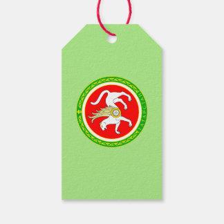 Étiquettes-cadeau Manteau des bras du Tatarstan