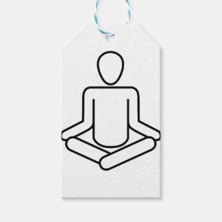 Étiquettes-cadeau Méditation-logo