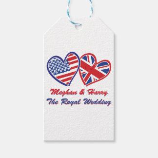 Étiquettes-cadeau Meghan-et-Harrys mariage