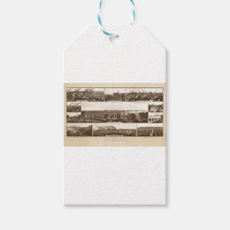 Étiquettes-cadeau Milwaukee 1882