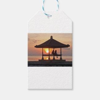 Étiquettes-cadeau Moring en île de Bali