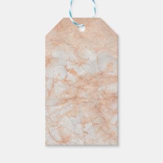 Étiquettes-cadeau Motif texturisé de marbre