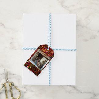 Étiquettes-cadeau Nativité de bébé Jésus, de Mary et de Joseph