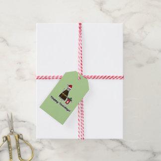 Étiquettes-cadeau Noël Père Noël d'enfant d'enfant de paquet de