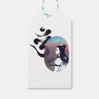 Étiquettes-cadeau Ohm en hausse de lune