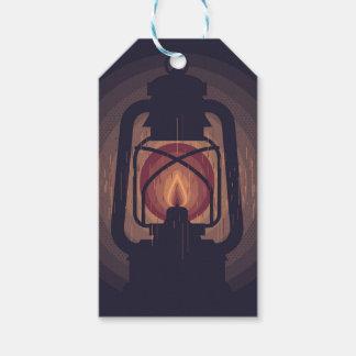 Étiquettes-cadeau oil lamp