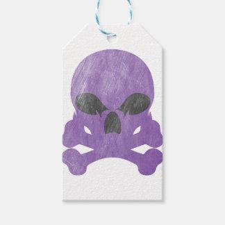 Étiquettes-cadeau Os de crâne