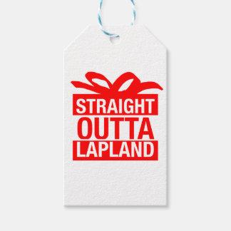 Étiquettes-cadeau Outta droit Laponie
