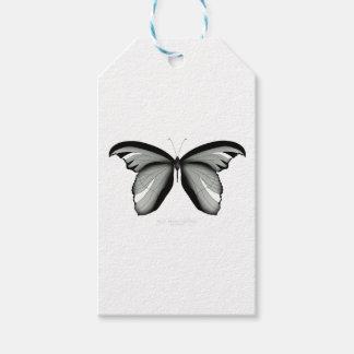 Étiquettes-cadeau Papillon occidental de sauge de colline