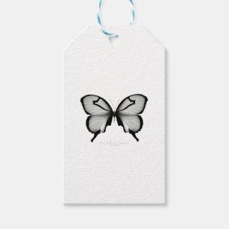 Étiquettes-cadeau Papillon sage de chasseur de vallée