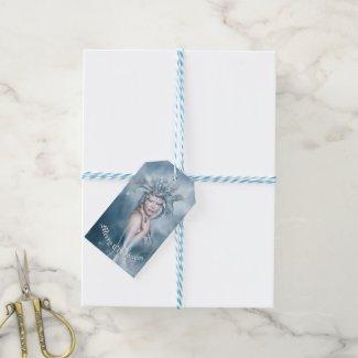 Étiquettes-cadeau Paquet d'esprit d'hiver de Joyeux Noël