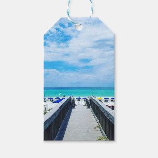 Étiquettes-cadeau Plages de Destin la Floride