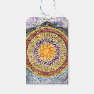 Étiquettes-cadeau Plexus solaire Chakra