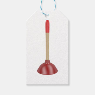 Étiquettes-cadeau Plongeur rouge