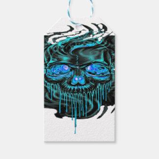 Étiquettes-cadeau Png de squelettes de glace d'hiver