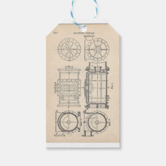 Étiquettes-cadeau Pocletbook du mécanicien