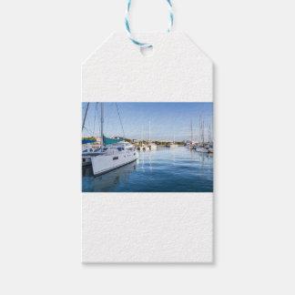 Étiquettes-cadeau port de la capitale de Port-Louis des Îles Maurice